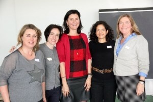 Regina Mehler at the Heidelberg International Professional Women's Forum Event